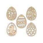 """Заготовка для декорирования """"Набор Пасхальные яйца"""" фанера 4x3см """"Mr. Carving"""""""
