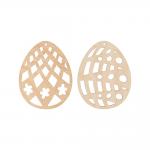 """Заготовка для декорирования """"Набор Пасхальные яйца 2"""" фанера 7x5,5см """"Mr. Carving"""""""