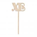 """Заготовка для декорирования """"Топпер ХВ"""" фанера 15x6,5см """"Mr. Carving"""""""