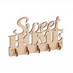 "Заготовка для декорирования ""Ключница Sweet Home"" фанера 20x13см ""Mr. Carving"""