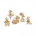 """Заготовка для декорирования """"Набор мини Крысы"""" фанера 4,5-5,5см """"Mr. Carving"""""""