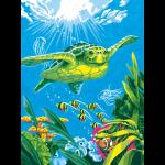 "Набор для раскрашивания ""Морская черепаха"" 23х30,5см ""Dimensions"""