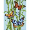 "Набор для раскрашивания ""Бабочки и бамбук"" 23х30,5см ""Dimensions"""