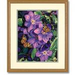 """Набор для раскрашивания """"Клематис и бабочки"""" 28х36см """"Dimensions"""""""