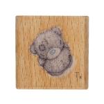 """Штамп резиновый на деревянной основе """"С наилучшими пожеланиями"""" """"DoCrafts"""" (Великобритания)"""