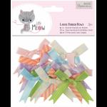 """Бантики для декорирования большие """"Little Meow"""" 12шт """"DoCrafts"""" (Великобритания)"""