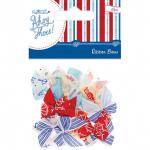 """Бантики для декорирования морские 20шт """"DoCrafts"""" (Великобритания)"""