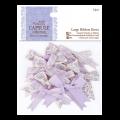 """Бантики для декорирования большие """"French lavender"""" 12шт """"DoCrafts"""" (Великобритания)"""