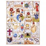 """Набор для вышивания """"Алфавит христианина"""" """"Design Works Crafts"""" (США)"""