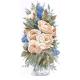 """Набор для вышивания """"Белые розы"""" """"Design Works Crafts"""" (США)"""