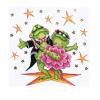 """Набор для вышивания """"Танцующие лягушки"""" """"Design Works Crafts"""" (США)"""