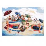 """Набор для вышивания """"Полдник на воде"""" """"Design Works Crafts"""" (США)"""