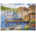 """Набор для вышивания """"Одеяла на пристани"""" """"Design Works Crafts"""" (США)"""