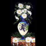 """Набор для вышивания """"Ромашки в вазе"""" """"Design Works Crafts"""" (США)"""