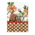 """Набор для вышивания """"Кот среди оранжевых цветов"""" """"Design Works Crafts"""" (США)"""
