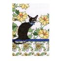 """Набор для вышивания """"Кот среди жёлтых цветов"""" """"Design Works Crafts"""" (США)"""