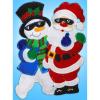 """Набор для создания панно из фетра """"Санта и снеговик"""" """"Design Works Crafts"""" (США)"""