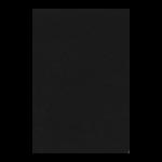 """Фетр 1мм черный 20х30см """"Efco"""" (Германия)"""