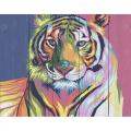 """Набор для раскрашивания по дереву """"Тигр в стиле поп-арт"""" 50х40см """"Фрея"""""""