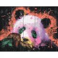 """Набор для раскрашивания по дереву """"Панда в стиле поп-арт"""" 50х40см """"Фрея"""""""