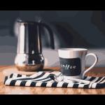 """Набор для раскрашивания """"Бодрящий кофе"""" 50х40см """"Фрея"""""""