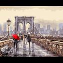 """Набор для раскрашивания """"Бруклинский мост"""" 50х40см """"Фрея"""""""