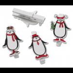 """Набор декоративных прищепок """"Пингвины"""" 6шт """"Knorr Prandell"""" (Германия)"""