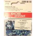 """Бусины деревянные d=4мм 165шт синий микс """"Knorr prandell"""" (Германия)"""
