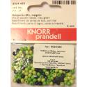"""Бусины деревянные d=4мм 165шт нежно-зелёный микс """"Knorr prandell"""" (Германия)"""