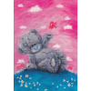 "Набор для картины шерстью ""Татти Тедди с бабочкой"" ""Woolla"""