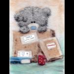"""Набор для картины шерстью """"Татти Тедди в коробке"""" """"Woolla"""""""