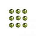"""Бусины стеклянные d=4мм 50шт 97354 зелёный металлик """"Preciosa"""" (Чехия)"""