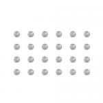 """Бусины стеклянные d=4мм 24шт прозрачные """"Preciosa"""" (Чехия)"""