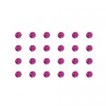 """Бусины стеклянные d=4мм 24шт пурпурные """"Preciosa"""" (Чехия)"""