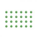 """Бусины стеклянные d=4мм 24шт светло-зеленые """"Preciosa"""" (Чехия)"""