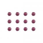 """Бусины стеклянные d=6мм 12шт фиолетовые """"Preciosa"""" (Чехия)"""