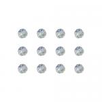 """Бусины стеклянные d=6мм 12шт перламутровые """"Preciosa"""" (Чехия)"""