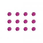 """Бусины стеклянные d=6мм 12шт пурпурные """"Preciosa"""" (Чехия)"""