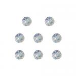 """Бусины стеклянные d=8мм 8шт перламутровые """"Preciosa"""" (Чехия)"""