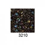 """Бисер ассорти №3210 черный 25гр """"Toho"""" (Япония)"""