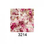 "Бисер ассорти №3214 розово-малиновый 25гр ""Toho"" (Япония)"