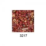 "Бисер ассорти №3217 малиново-золотистый 25гр ""Toho"" (Япония)"