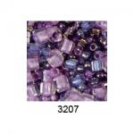 """Бисер ассорти №3207 фиолетовый 25гр """"Toho"""" (Япония)"""