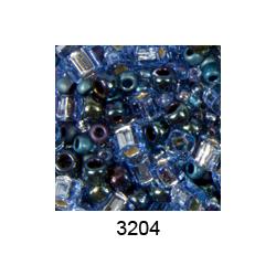 "Бисер ассорти №3204 фиолетово-синий 25гр ""Toho"" (Япония)"