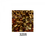 "Бисер ассорти №3205 бронзово-золотистый 25гр ""Toho"" (Япония)"