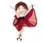 "Набор для шитья игрушки ""Балерина Кармен"" 27см ""Miadolla"""