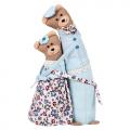 """Набор для шитья игрушки """"Мишки-обнимашки"""" 28см """"Miadolla"""""""