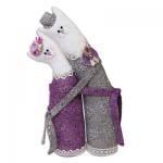"""Набор для шитья игрушки """"Коты-обнимашки серебряные"""" 29см """"Miadolla"""""""