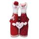 """Набор для шитья игрушки """"Влюблённые коты"""" 27см """"Miadolla"""""""