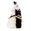 """Набор для шитья игрушки """"Коты-обнимашки свадебные"""" 29см """"Miadolla"""""""